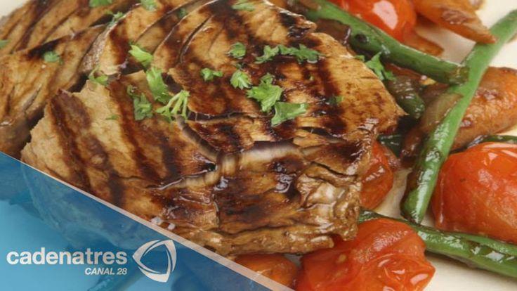 Aprende a preparar un delicioso filete de atún a la parrilla