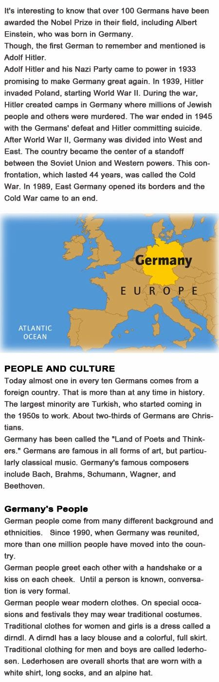 Germany Facts for kids