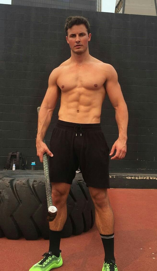 Pin by Tasia Giambona on DW Chase | Mens gym short, Male