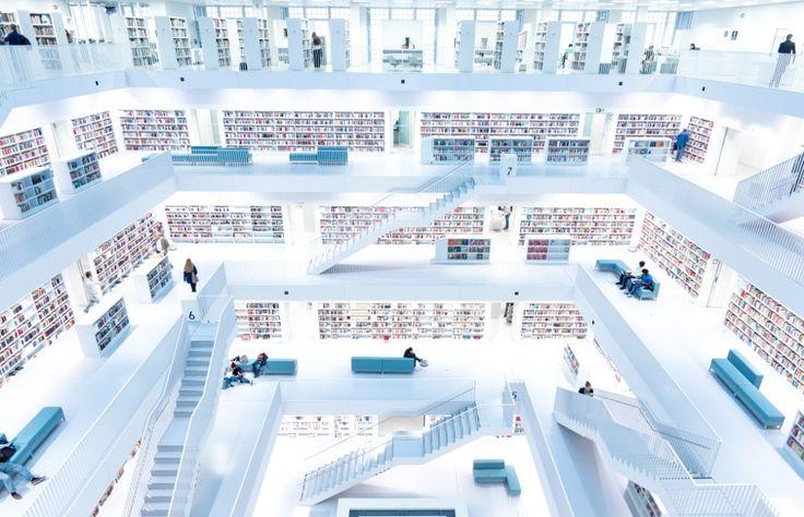 Stuttgart Stadtbibliothek by yffic