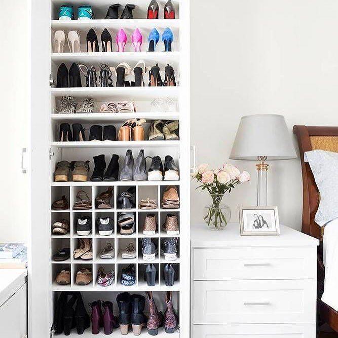 O que acha dessa sapateira compacta? ( eu amei!) #sapatos #espaços #organização #organizesemfrescuras #personalorganizer