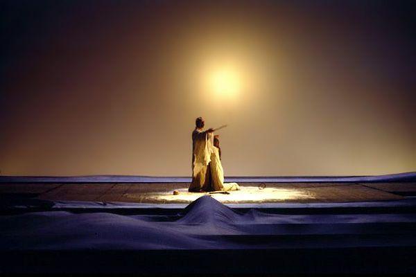 The Tempest, Shakespeare, concept by Luciano Damiani (precious, precious) dir. Giorgio Strehler, Piccolo Teatro, Milano
