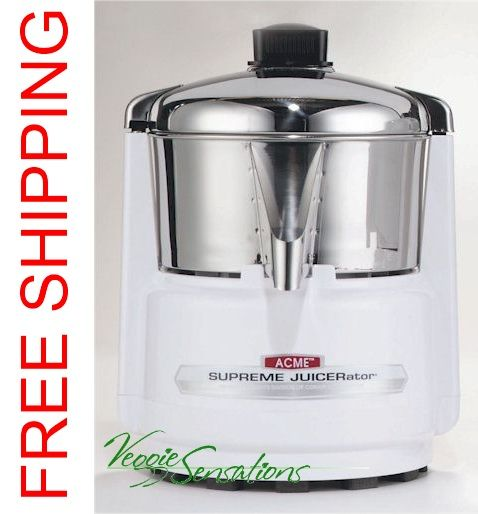 Receive 200 free juicer filters with the purchase of an Acme 6001 Centrifugal Juicer and free shipping from VeggieSensations.com http://www.veggiesensations.com/collections/juicers/products/acme-centrifugal-juicer-6001