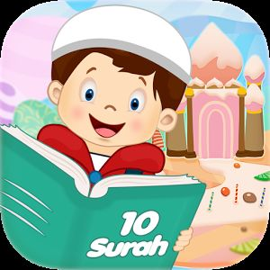 10 Surah for kids is an application in android and iOS brings last 10 Surahs of Quran with their audio recitation, translation and transliteration.