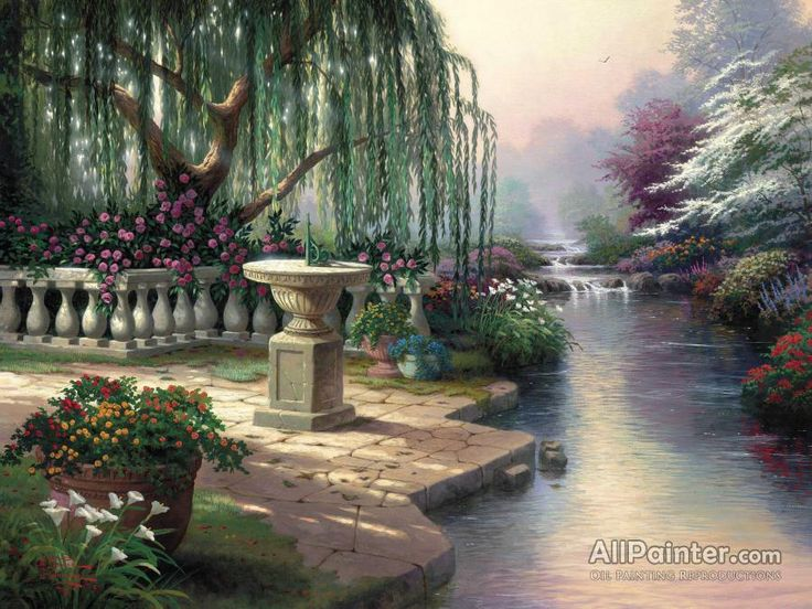 Thomas Kinkade Hour Of Prayer oil painting reproductions for sale