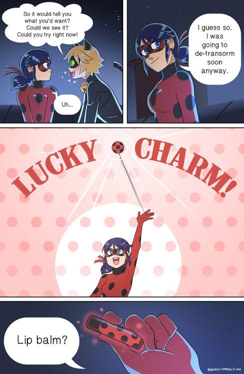 Yeah, go ahead and kiss chat noir, ladybug