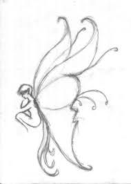 Image result for easy pencil drawings of fairies for beginners