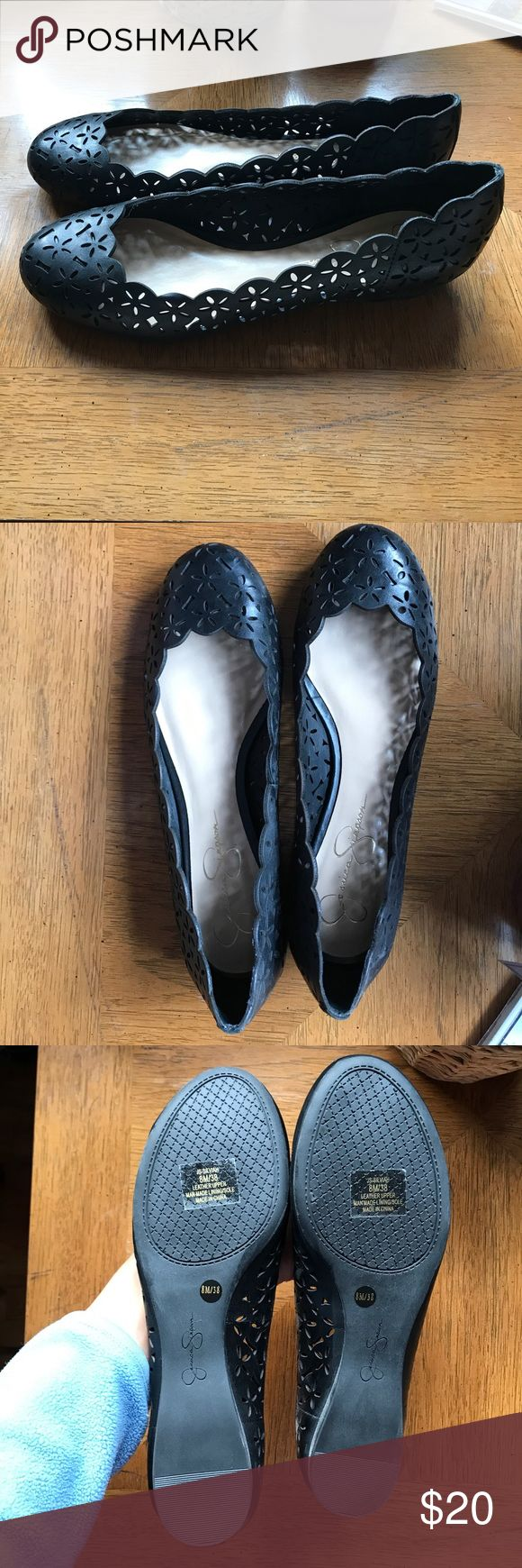 Jessica Simpson ballet flats Brand new, never worn flats. Perfect for a casual day at work. They're so soft and comfortable. You won't get any new shoe blisters. Jessica Simpson Shoes Flats & Loafers