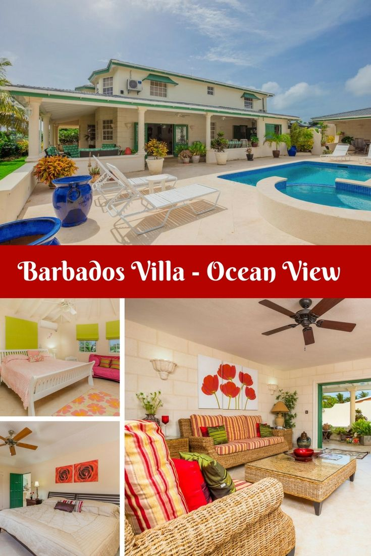 Bring your family or a group of friends for an amazing Barbados vacation at this stunning 4-bedroom villa