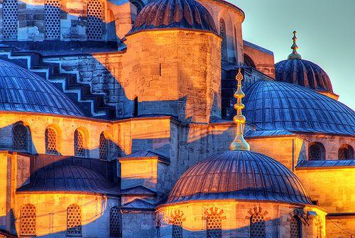Blue Mosque, detail by Timothy Neesam (GumshoePhotos), via Flickr