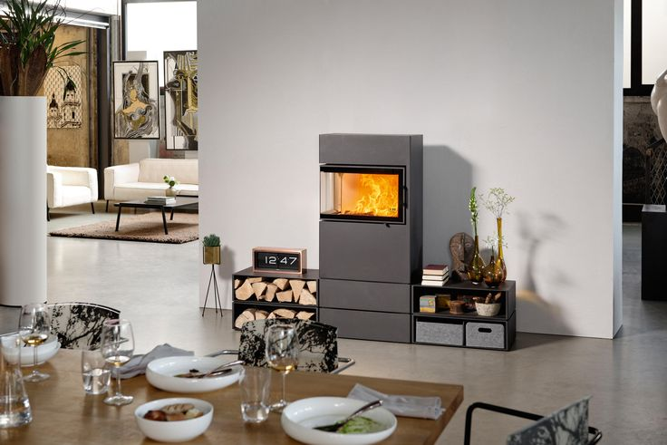 DEXTER - Designer Wood burner inserts from Austroflamm ✓ all information ✓ high-resolution images ✓ CADs ✓ catalogues ✓ contact information ✓..