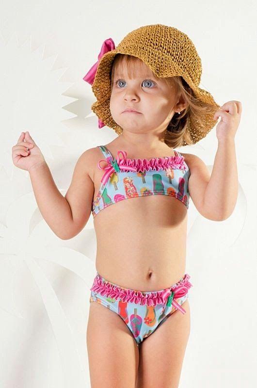 d413c72c6275 Modelos de Biquínis Infantis - Fotos | biquini | Biquini infantil ...
