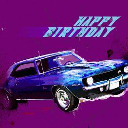 The Camaro Z28 Happy Birthday Pinterest Birthday Wishes