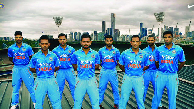 ICONIC MOMENT AT THE MCG FOR TEAM INDIA - Photo by www.sdpmedia.com.au