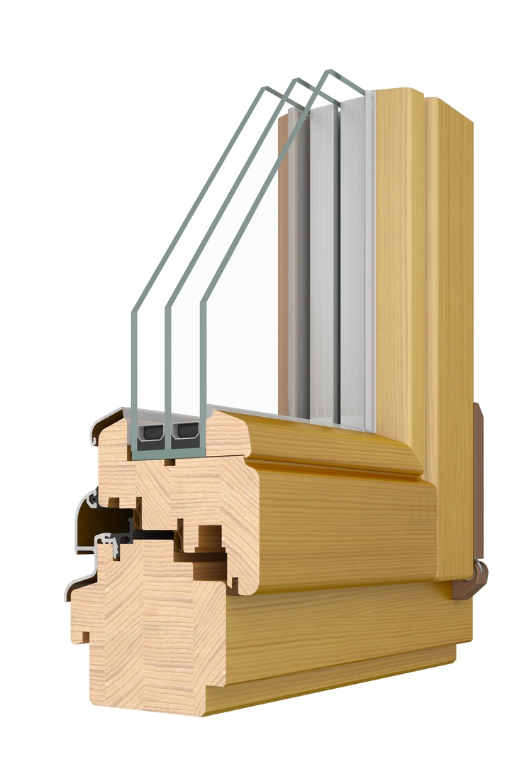 Elite 92; Triple glazed, inward opening, tilt & turn window. U values as low as 0.76W/m2K.