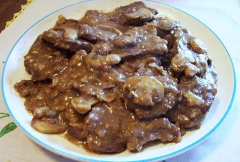 Venison Marsala. - OUTSTANDING! I pounded the venison into cutlets, and doubled the sauce so I could serve it over quinoa & brown rice. Added a few dashes of Worcestershire and Costco's no-salt seasoning