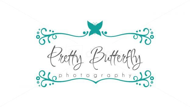 butterfly - swirly frame  on 99designs Logo Store