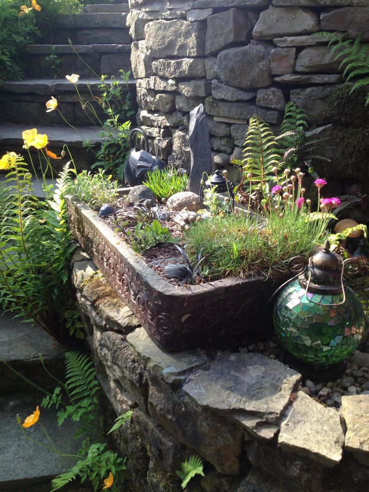 Butlers sink alpine planting