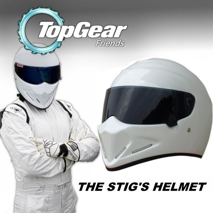 81.88$  Buy here - http://alig1i.worldwells.pw/go.php?t=32279950370 - For Top Gear The STIG Helmet Casco De Motocicleta with Black Visor / Capacete as SIMPSON Pig / White Motorcycle Casque I'm Stig