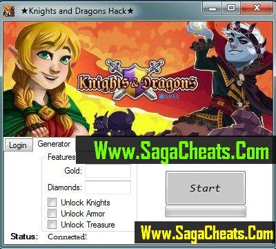 Knights and Dragons Hack1 Knights And Dragons Hack Cheats Tool
