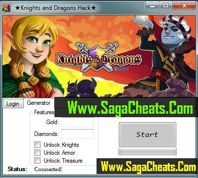 Knights and Dragons Hack1 Knights And Dragons Hack Cheats Tool