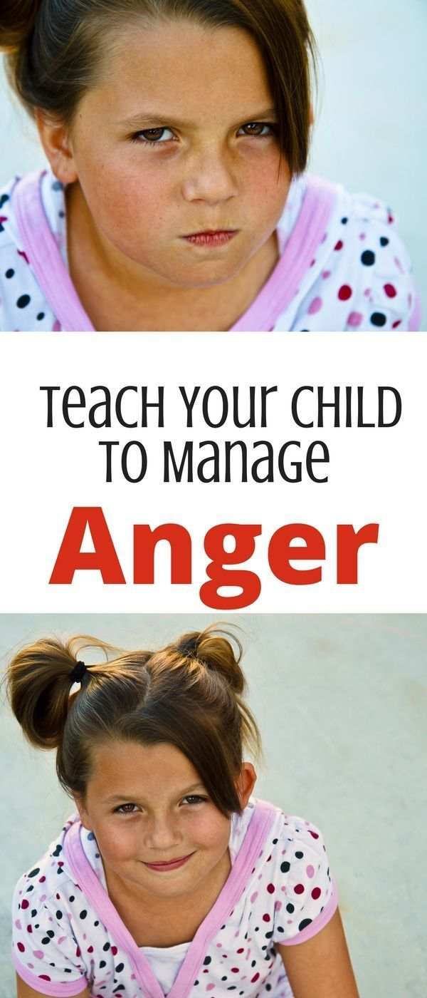 Four steps to teach your child to manage and understand anger! Use self-regulation to teach children to handle anger-- great books recommendations too! via /nthrive/