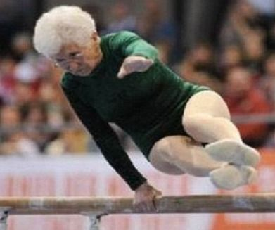Joahanna-Quaas: Gymanst at 86! I love her!