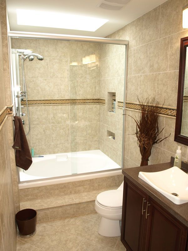 17 best ideas about small bathroom renovations on - Small full bathroom remodel ideas ...