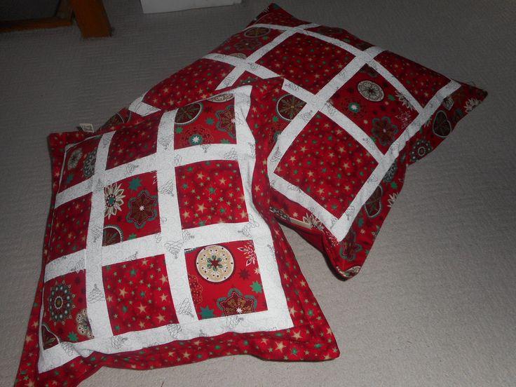 Vánoční polštářky