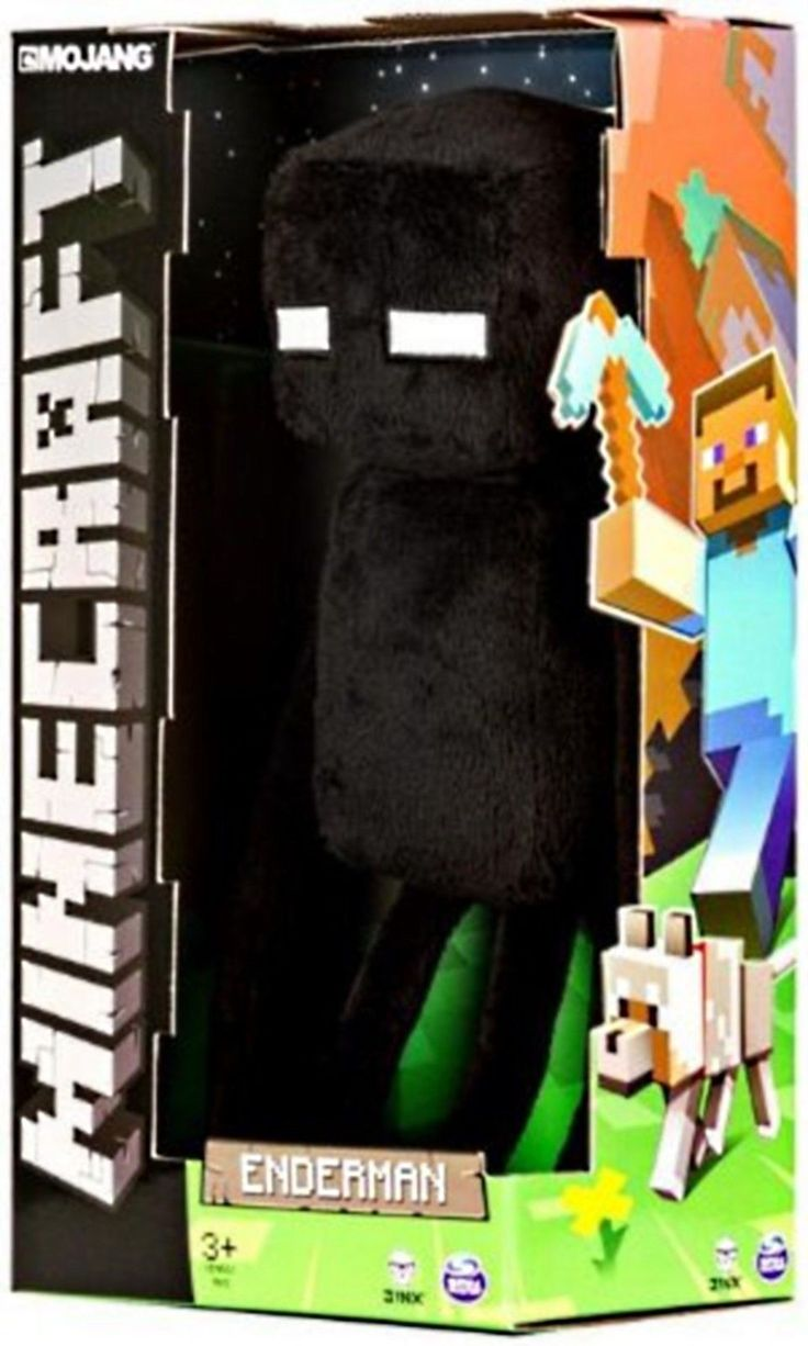 "Official Minecraft Enderman 17"" Plush Toy Figure 