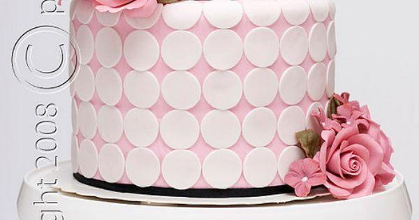 Wedding cake   Decoración   Pinterest   Cakes, Pink and Dots