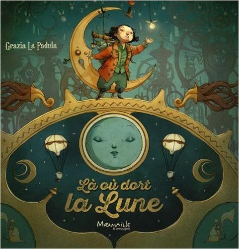 Amazon.fr - Là où dort la lune - Grazia La Padula - Livres