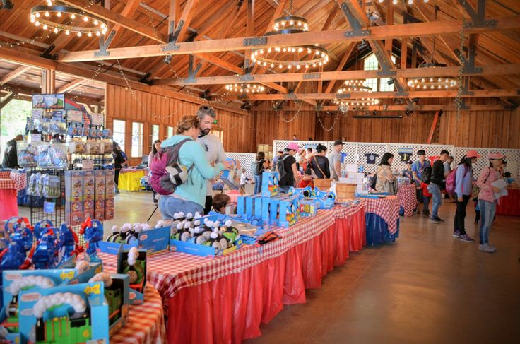 Our Day Out with Thomas at Roaring Camp Railroads Review - Thomas Gift Shop Interior