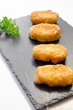 croquetas de pollo caseras paso a paso