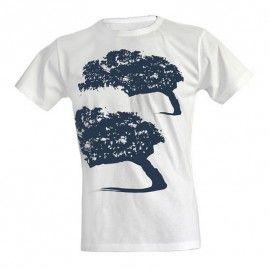 T-shirt Mistral uomo bianca