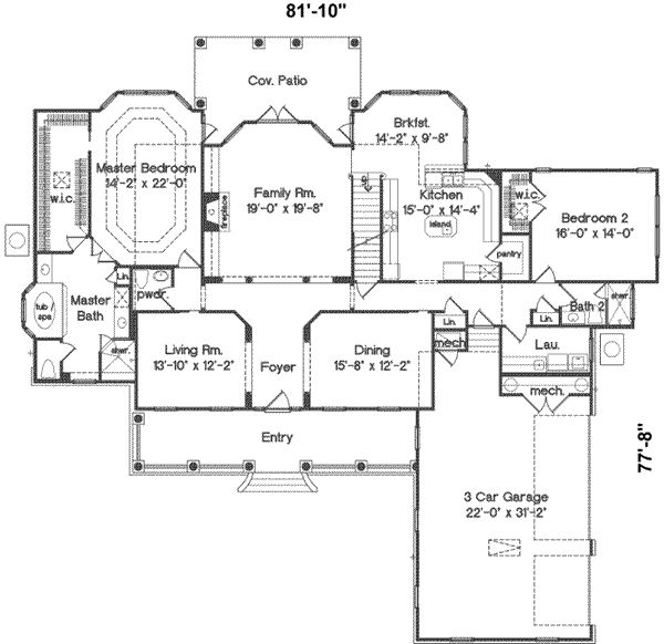 Best 25 4000 sq ft house plans ideas on pinterest one for 4000 square foot homes