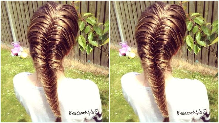 fishtail braid instructions with pictures