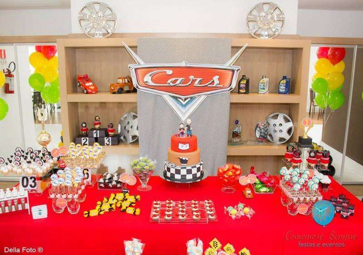 Cars party in a Double celebration. The passion of father and Son.  | CatchMyParty.com