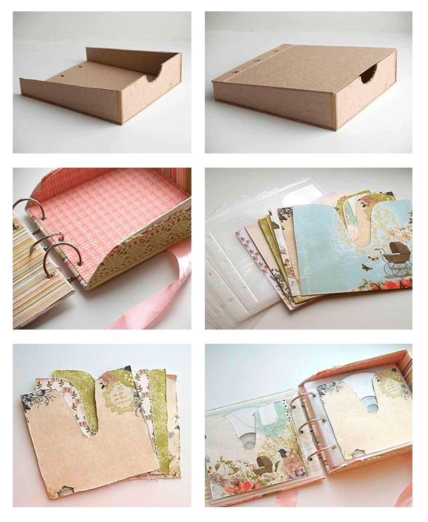 Como hacer un album para fotos manualidades pinterest - Manualidades album de fotos ...
