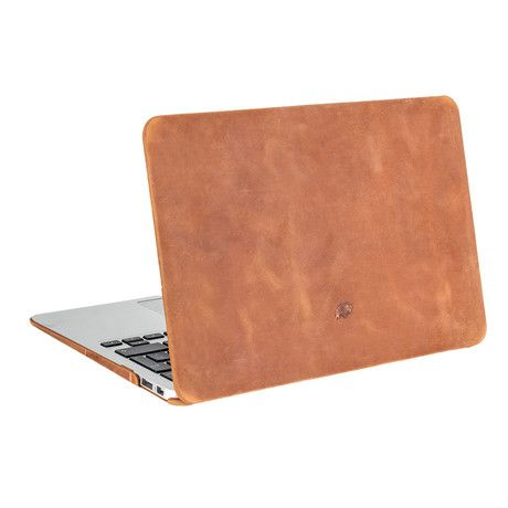 Burkley Case // MacBook Air Hardshell Cover // Antique Camel