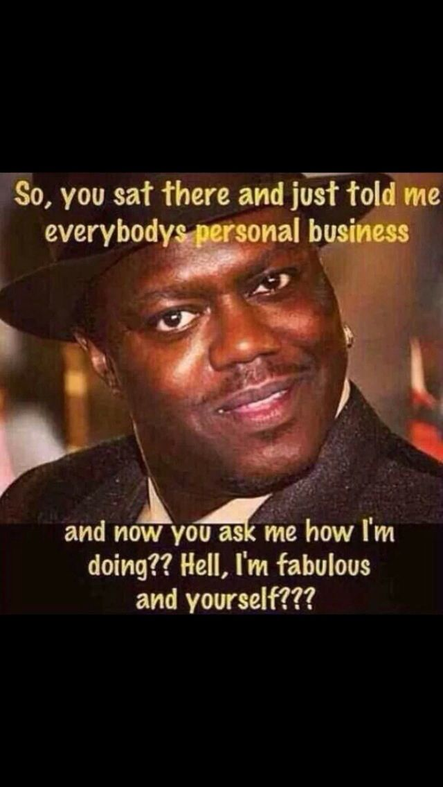 This is for no one in particular but I love Bernie Mac & I can hear him…