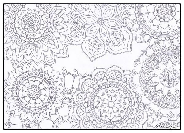 15 Fantastic Free Colouring Pages For Adults Free Coloring Pages Mandala Coloring Pages Stress Coloring