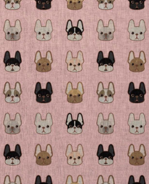 French Bulldog Wallpaper, illustration ❤️