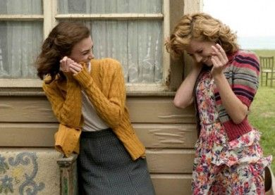 The movie was bad, the clothes oh so very good! {oh, those flowered dresses, sweaters, and wellies!)