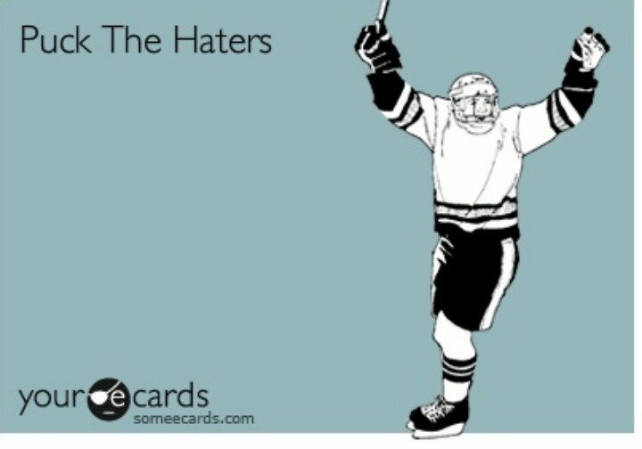 Puck the Haters