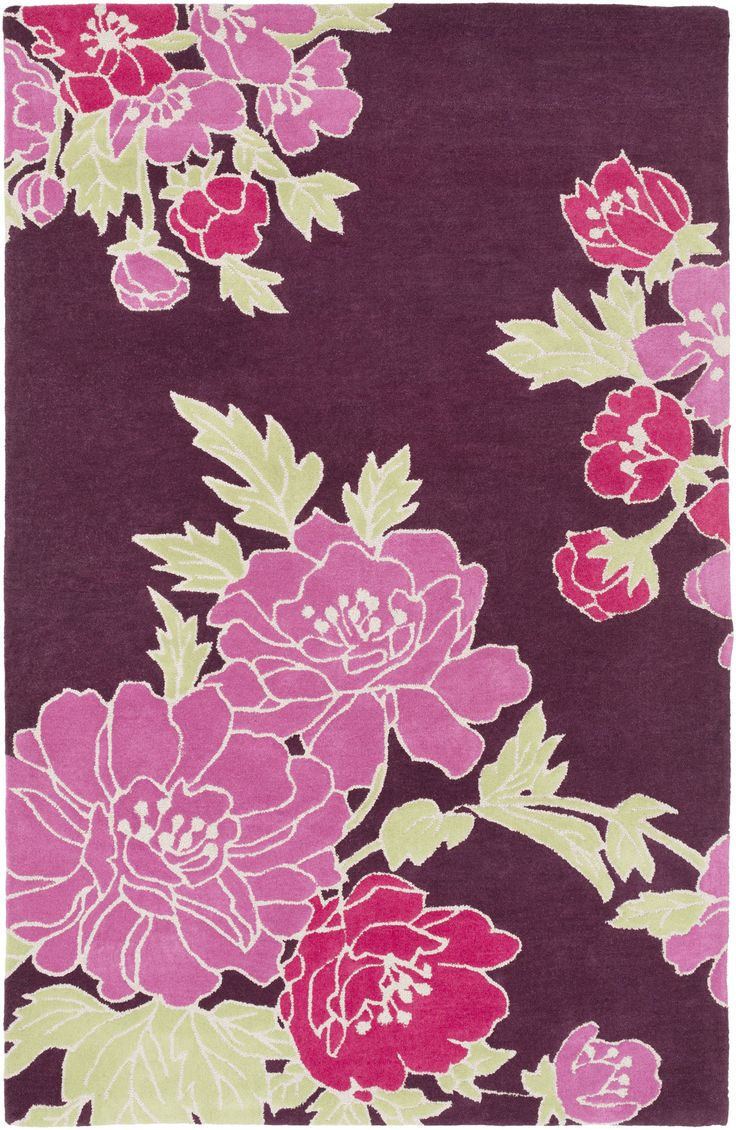 Florence Broadhurst wallpapers, rugs, and fabrics: from mylusciouslife.com