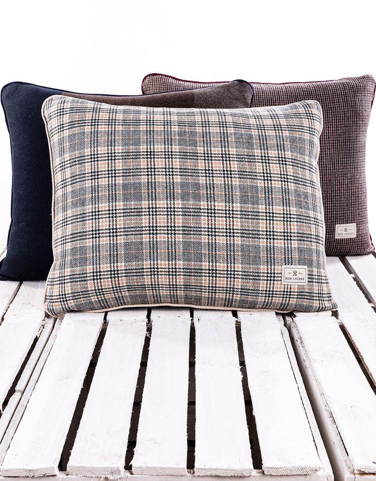 Explore Red Lychee unique pillows: Duke, Clurman, Martinson.