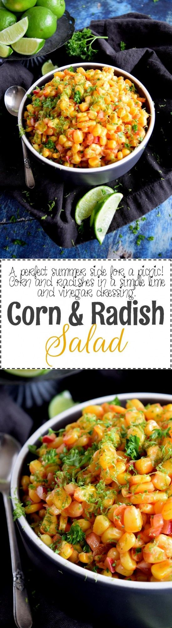 Corn and Radish Salad - Lord Byron's Kitchen