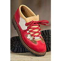 Ammann Chueli Suede and Cowhide Shoe RED/COWHIDE Size EU37