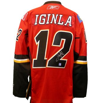 Jarome Iginla Red Jersey, NHL Reebok Calgary Flames #12 Jersey     ID:116 Price :$35